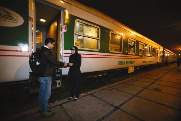Corporacion Ferrovaria de Vietnam aumentara trenes en ocasion del Tet hinh anh 1