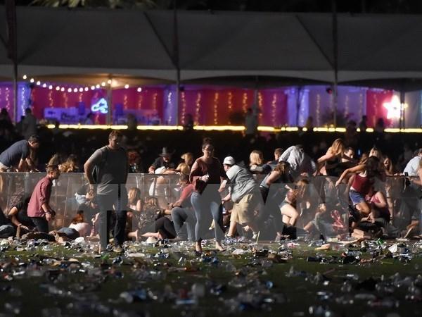 Vietnam expresa pesar a Estados Unidos por tiroteo en Las Vegas hinh anh 1