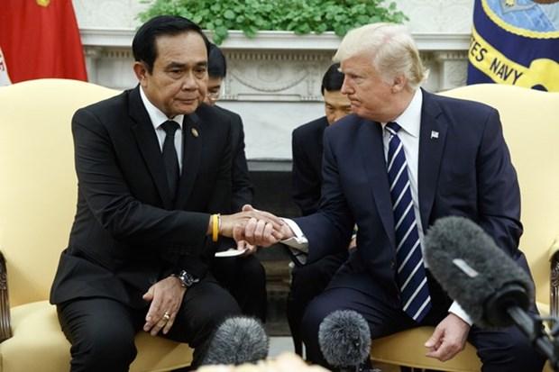 Donald Trump aboga por mejorar relaciones comerciales con Tailandia hinh anh 1