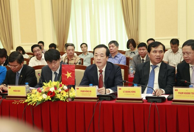 Concluye reunion 35 de Comision Intergubernamental Vietnam-Cuba hinh anh 1