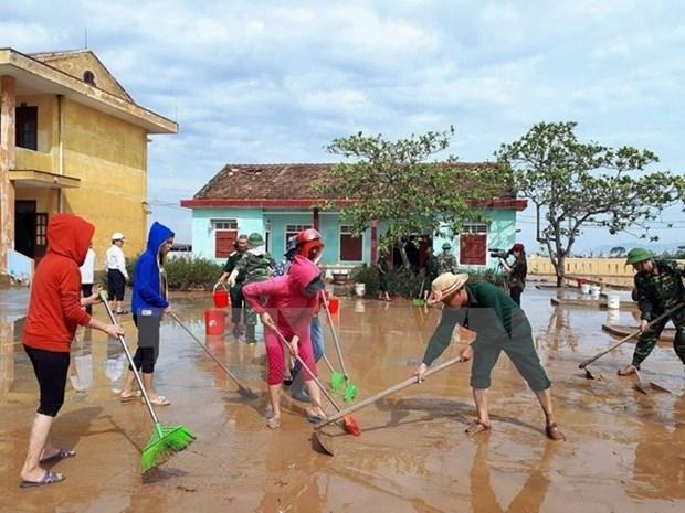 Expresa Raul Castro condolencias a Vietnam ante perdidas causadas por tifon Doksuri hinh anh 1