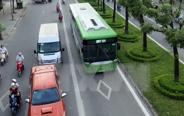 BM ratifica asistencia financiera para optimizar el proyecto BRT en Hanoi hinh anh 1
