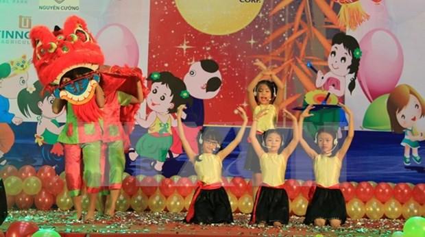 Presidente vietnamita felicita a los ninos en ocasion de Fiesta del Medio Otono hinh anh 1