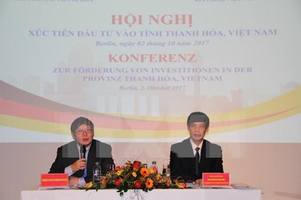 Provincia vietnamita de Thanh Hoa promueve inversion en Alemania hinh anh 1