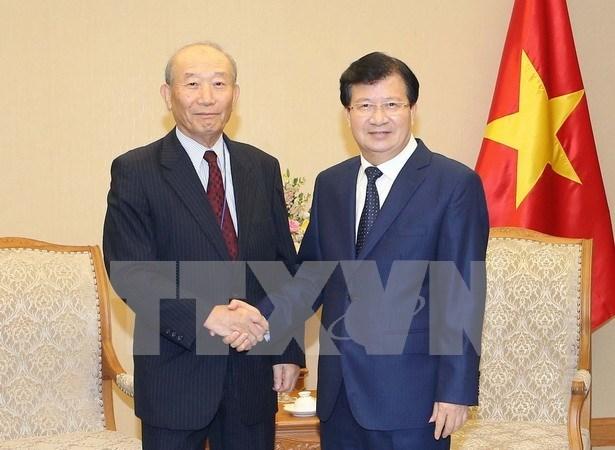  Vietnam reitera disposicion de favorecer inversiones japonesas hinh anh 1