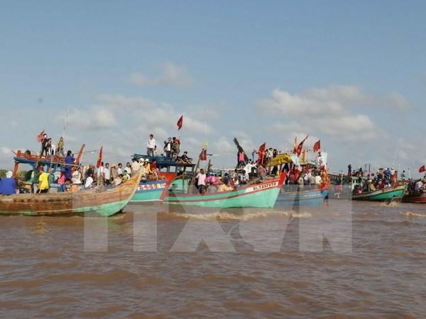 Inauguran en Ciudad Ho Chi Minh festival Nghinh Ong hinh anh 1