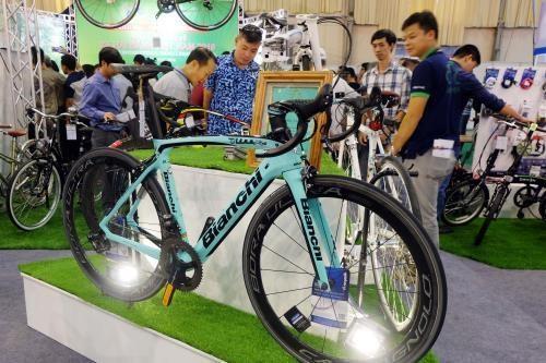 Efectuaran en Hanoi Exposicion Internacional de bicicletas hinh anh 1