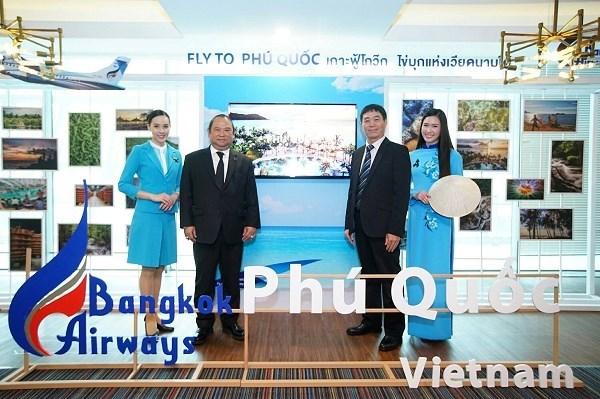 Inicia aerolinea tailandesa ruta Bangkok- Phu Quoc hinh anh 1