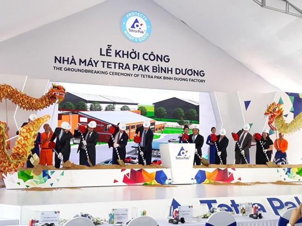 Tetra Pak construye fabrica de envases en Binh Duong hinh anh 1