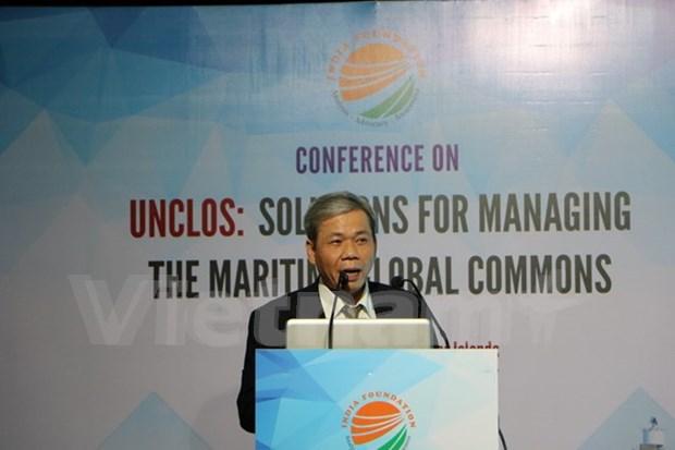 La UNCLOS, clave para solucion de disputas en Mar del Este hinh anh 1