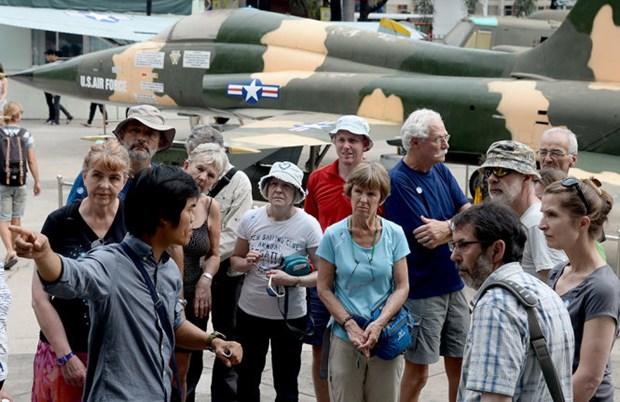 Reportan ligero aumento de turistas extranjeros a Ciudad Ho Chi Minh hinh anh 1