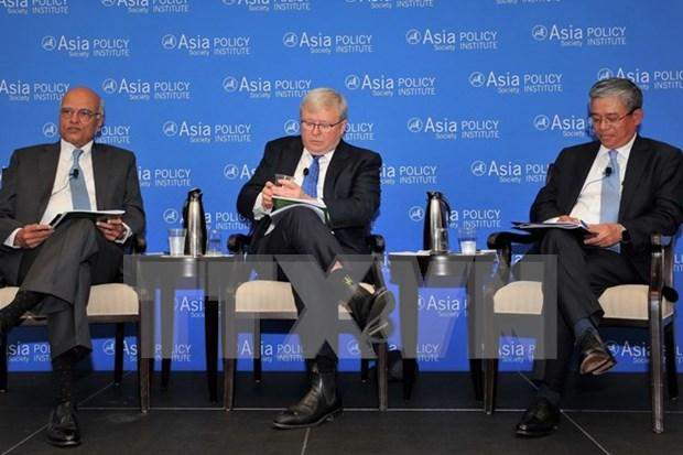 Embajador vietnamita en EE.UU. destaca rol de mecanismos regionales en estructura de seguridad hinh anh 1