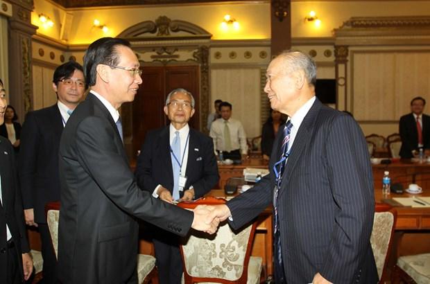 Japon y Ciudad Ho Chi Minh refuerzan cooperacion en diplomacia popular hinh anh 1