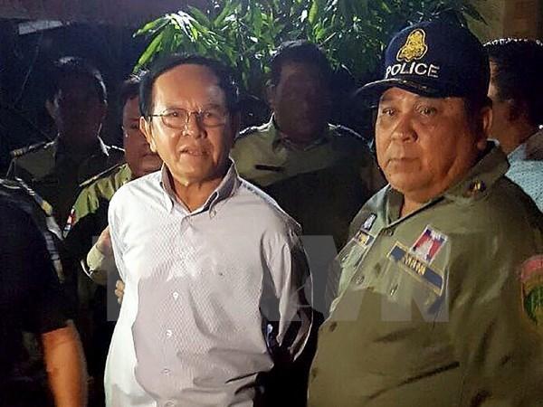 Ministerio del Interior de Camboya denuncia al opositor partido CNRP hinh anh 1