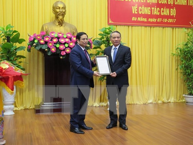 Anuncian decision del Buro Politico sobre labores del personal de Da Nang hinh anh 1