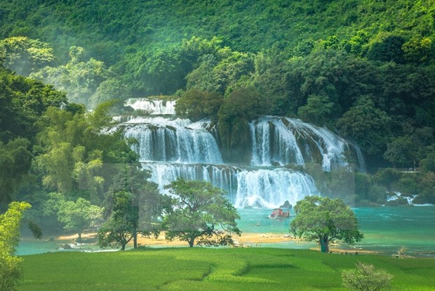Celebran en provincia norvietnamita festival de turismo de Ban Gioc hinh anh 1