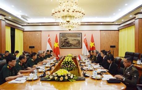Vietnam y Singapur efectuan octavo Dialogo de Politicas de Defensa hinh anh 1