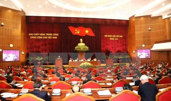 Prosigue sexto pleno del Comite Central del Partido Comunista de Vietnam hinh anh 1