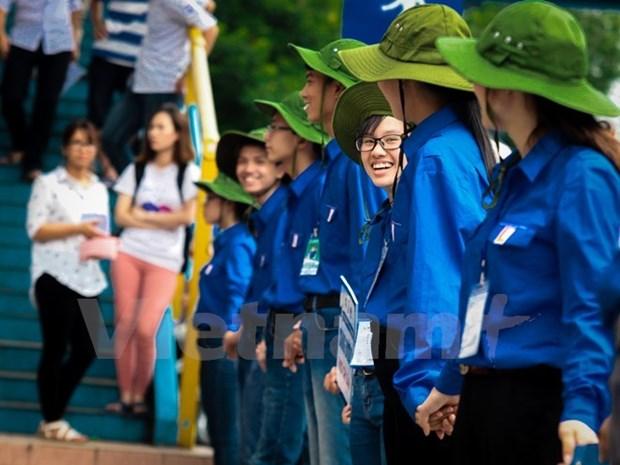 Vietnamitas preparan XI Congreso Nacional de Juventud hinh anh 1
