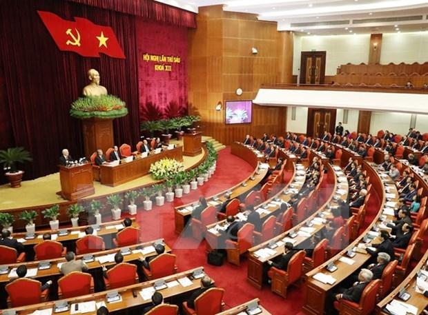 Partido Comunista de Vietnam promulga reglamento sobre rotacion de personal hinh anh 1