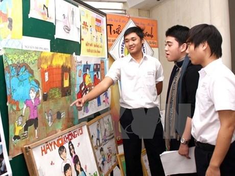 Vietnam aprueba proyecto contra violencia familiar financiado por FPNU hinh anh 1