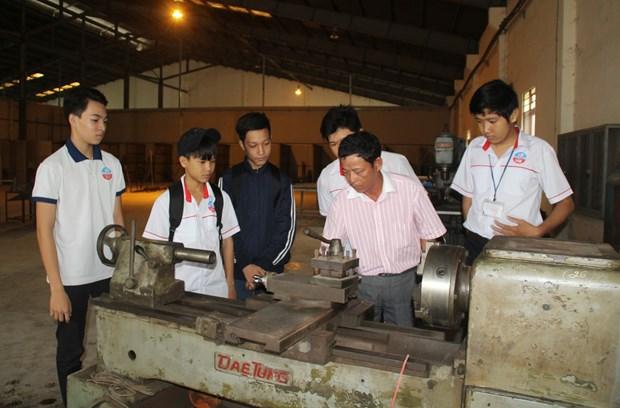 Registra buenos resultados primer colegio vocacional de catolicos en Vietnam hinh anh 1