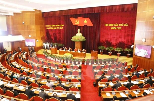 Organo rector del PCV continua sexto pleno con analisis sobre reorganizacion del sistema politico hinh anh 1