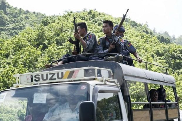 Myanmar fortalece la seguridad en zonas fronterizas ante amenaza terrorista hinh anh 1