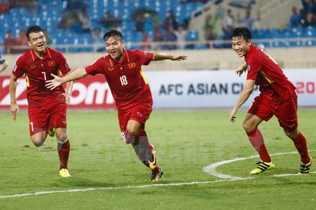 Vietnam vence a Camboya en ronda preliminar de Copa Asiatica 2019 hinh anh 1