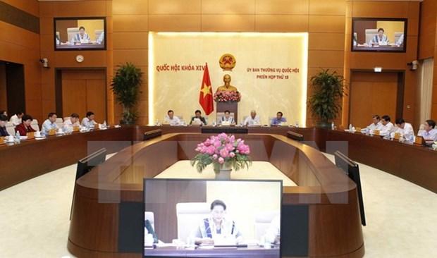Comite Permanente del Parlamento vietnamita analiza situacion socioeconomica hinh anh 1