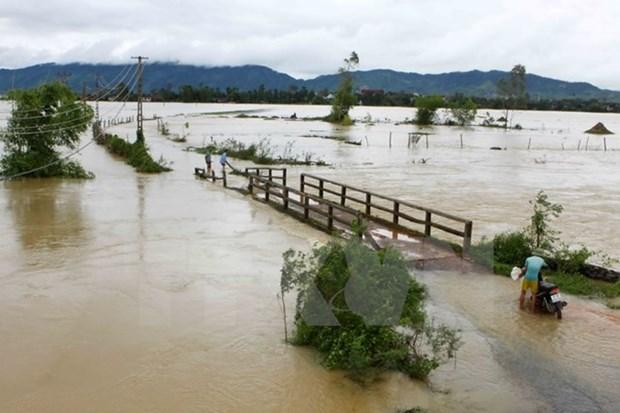 Inundaciones causan graves perdidas humanas y materiales en Vietnam hinh anh 1