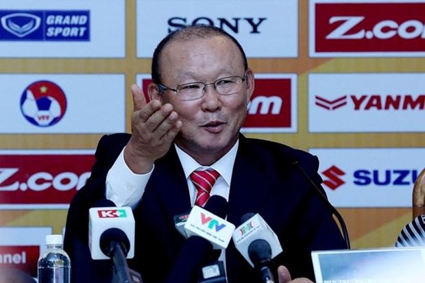 Park Hang Seo, nuevo entrenador de la seleccion vietnamita de futbol hinh anh 1