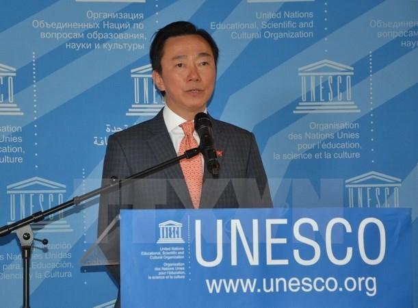 Vietnam retira candidatura para cargo de director general de UNESCO hinh anh 1