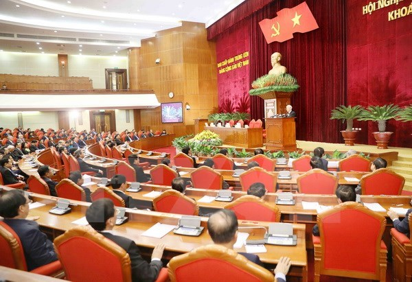 Comite Central del PCV aprueba importantes documentos en su sexto pleno hinh anh 1