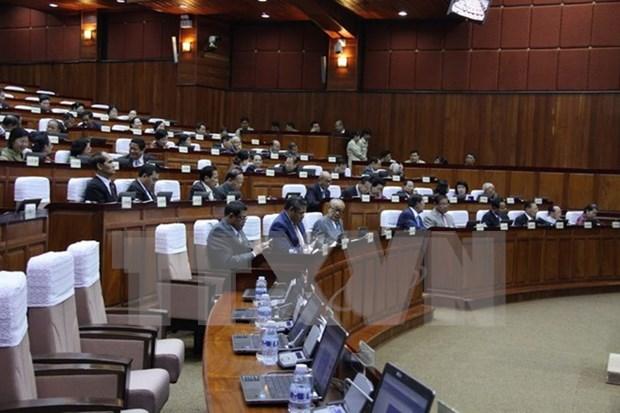 Parlamento camboyano impulsa reajuste de leyes electorales hinh anh 1