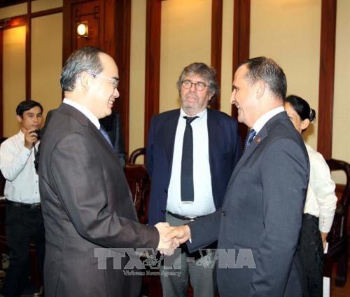 Ciudad Ho Chi Minh y Francia promueven cooperacion en transporte hinh anh 1