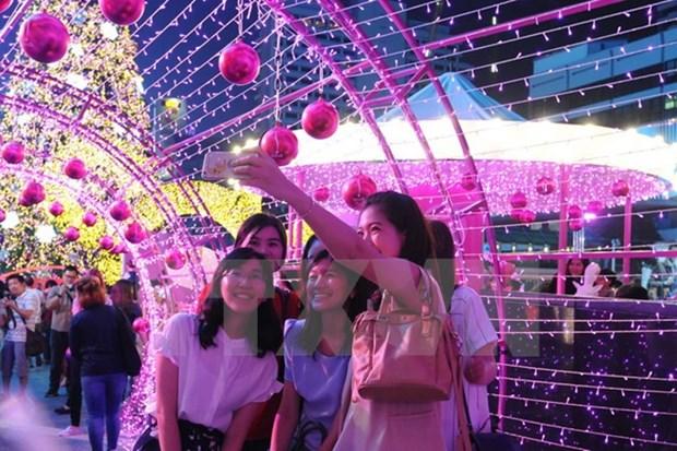 Tailandia espera recibir a 34 millones de turistas en 2017 hinh anh 1