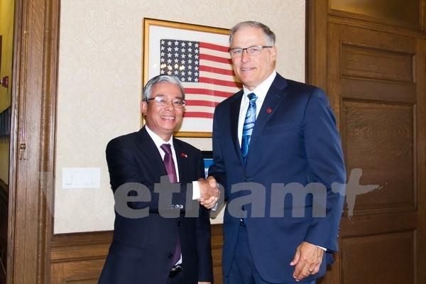 Vietnam y estado de Washington fortalecen cooperacion hinh anh 1