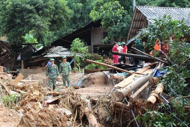 Continuan recaudaciones de fondos en apoyo a victimas de desastres naturales en Vietnam hinh anh 1