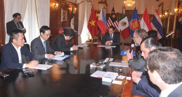 ASEAN fortalece lazos con Mexico hinh anh 1