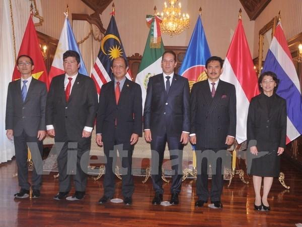 ASEAN fortalece lazos con Mexico hinh anh 2