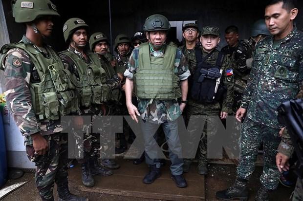 Ejercito filipino anuncia que liberara pronto ciudad de Marawi hinh anh 1