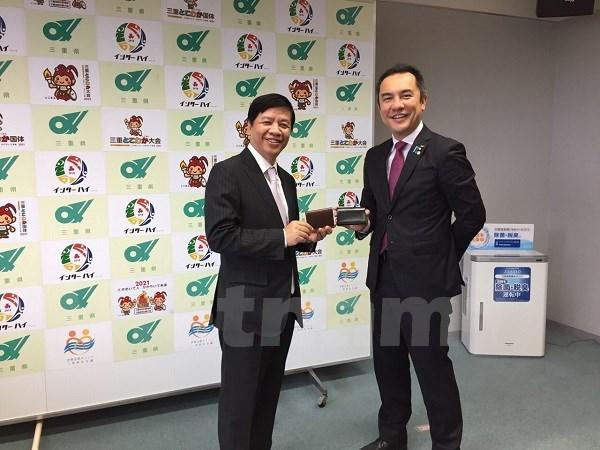 Vietnam fortalece cooperacion con localidades japonesas hinh anh 1