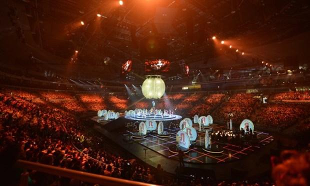 Vietnam participa en XIX Festival Mundial de la Juventud y los Estudiantes en Rusia hinh anh 1