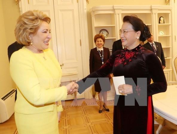 Vietnam y Rusia aumentan cooperacion en foros internacionales hinh anh 1