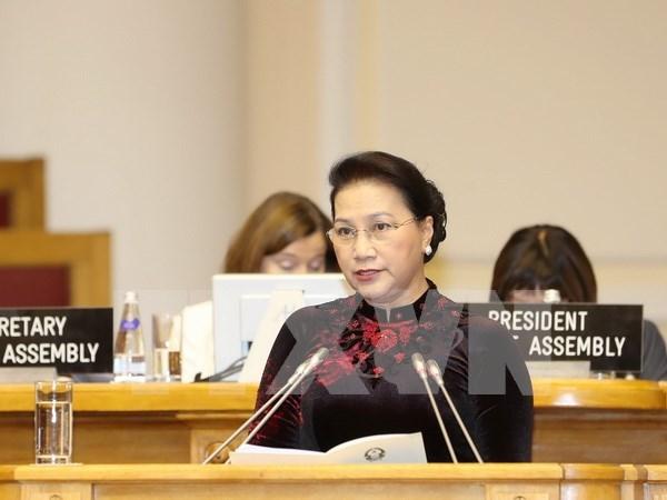 Vietnam llama a dialogo entre religiones y entre etnias para mantener la paz mundial hinh anh 1