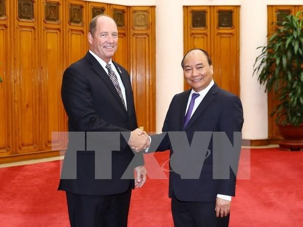 Vietnam resalta atencion de EE.UU. de impulsar asociacion integral binacional hinh anh 1