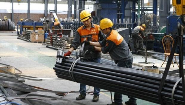 Sector siderurgico de Vietnam creceio 24 por ciento en primeros nueve meses de 2017 hinh anh 1