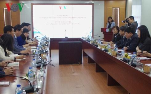 Radioemisora vietnamita y provincia sudcoreana de Gyeonggi intensifican cooperacion hinh anh 1