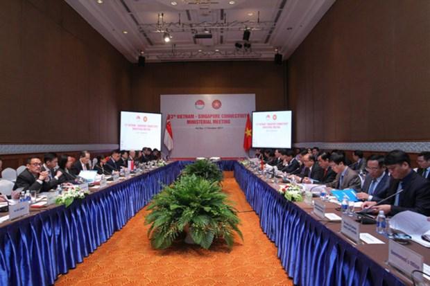 Vietnam y Singapur aumentan conexion economica hinh anh 1
